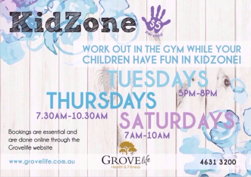 New Kidzone Schedule
